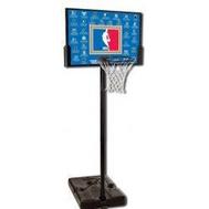 Стойка баскетбольная SPALDING NBA TEAMS44 RECTANGLE COMPOSITE, фото 1