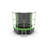 Батут EVO JUMP INTERNAL 8 FT GREEN + LOWER NET, фото 1