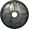 Олимпийский обрезиненный диск Alex 5 кг черный, фото 1